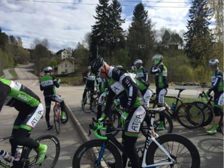 OVER OG UT: André har syklet sitt siste ritt med den rekordjaktende gjengen hos Atea.