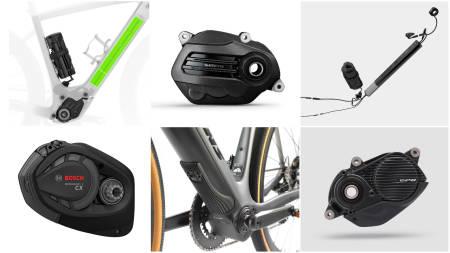 VALGDAG: Det er i hovedsak seks motorer som dominerer markedet for elektriske landeveissykler eller gravelsykler. Men hva er forskjellen?