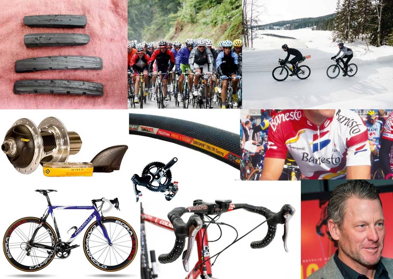 sykkelstæsj, felgbrems, vintersykling, wattmåler, lance armstrong