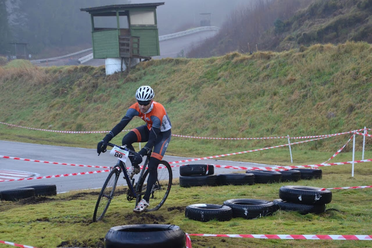 EIKÅSBANEN: De to siste rundene i kross-Norgescupen arrangeres på Eikåsbanen av Bergen CK. Foto: Bergen CK