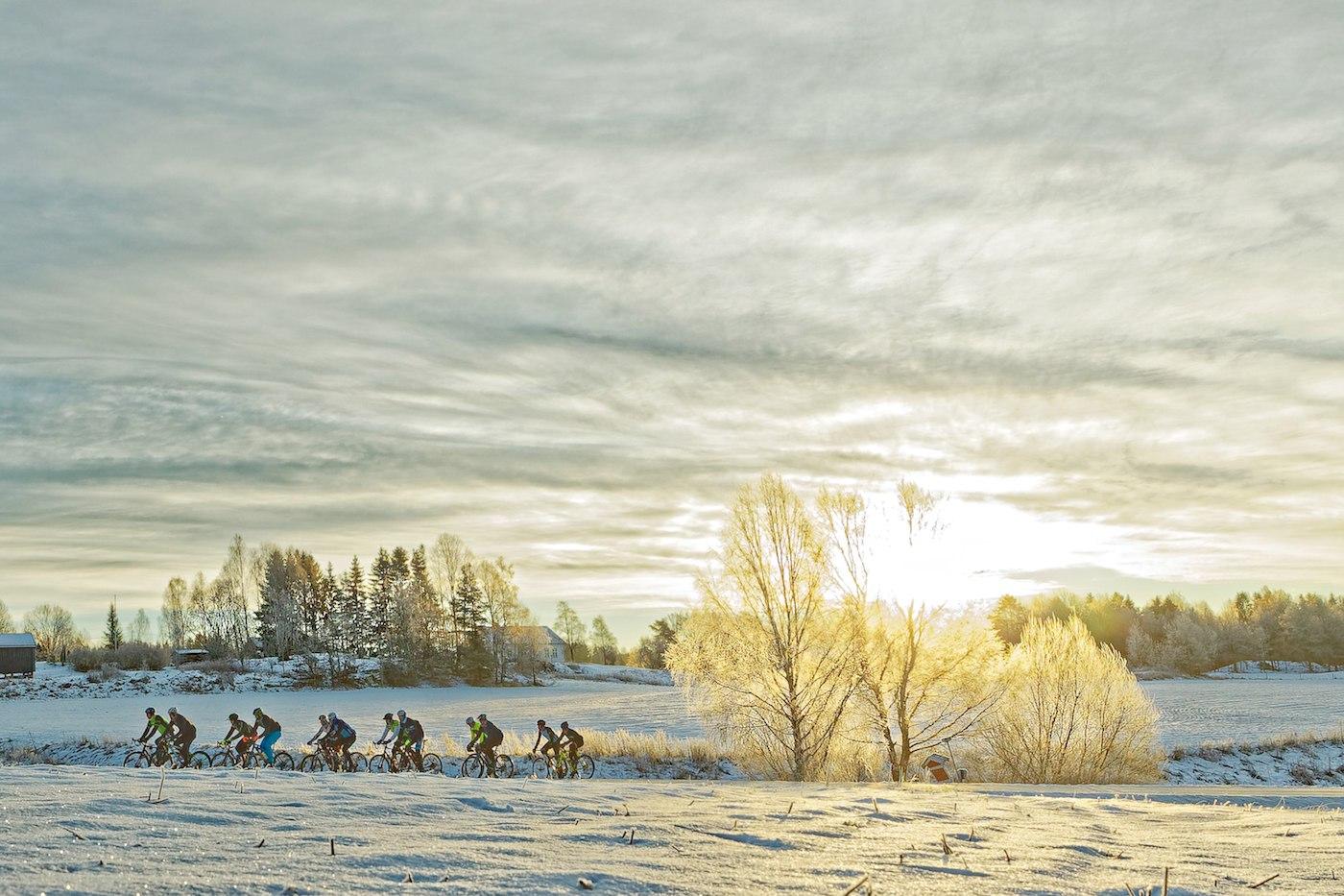 HERDES: Neglesprett og piggdekk bygger mental styrke som kommer godt med når pallen i Trondheim-Oslo skal forsvares i juni. Foto: Ola Morken