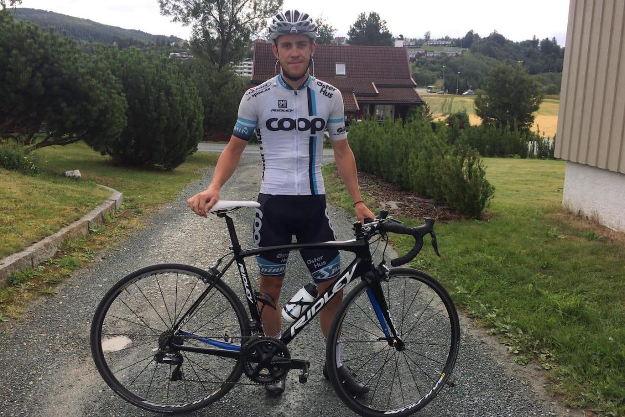 SYSTEMATISK: Kristian Aasvold har lagt ned tusenvis av treningstimer over mange år.