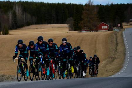 2018: Det er neste år det skal gå virkelig fort for Aurora Borealis. Alt innen den tid er trening. Foto: Eirik Granly