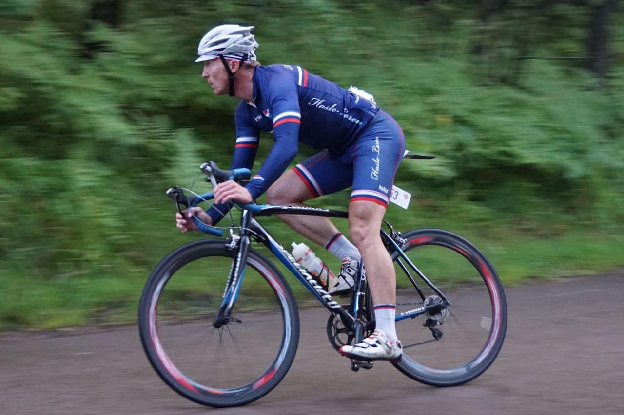 VM-KLAR: Atle Thoresen sykler sitt andre masters-VM denne helga. Foto: Bjørn Saksberg