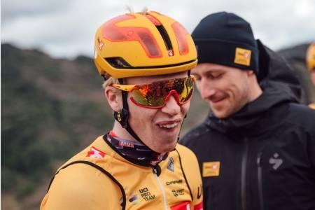 Andreas Leknessund slo rekorden på strekningen Gressbanen-Tryvann