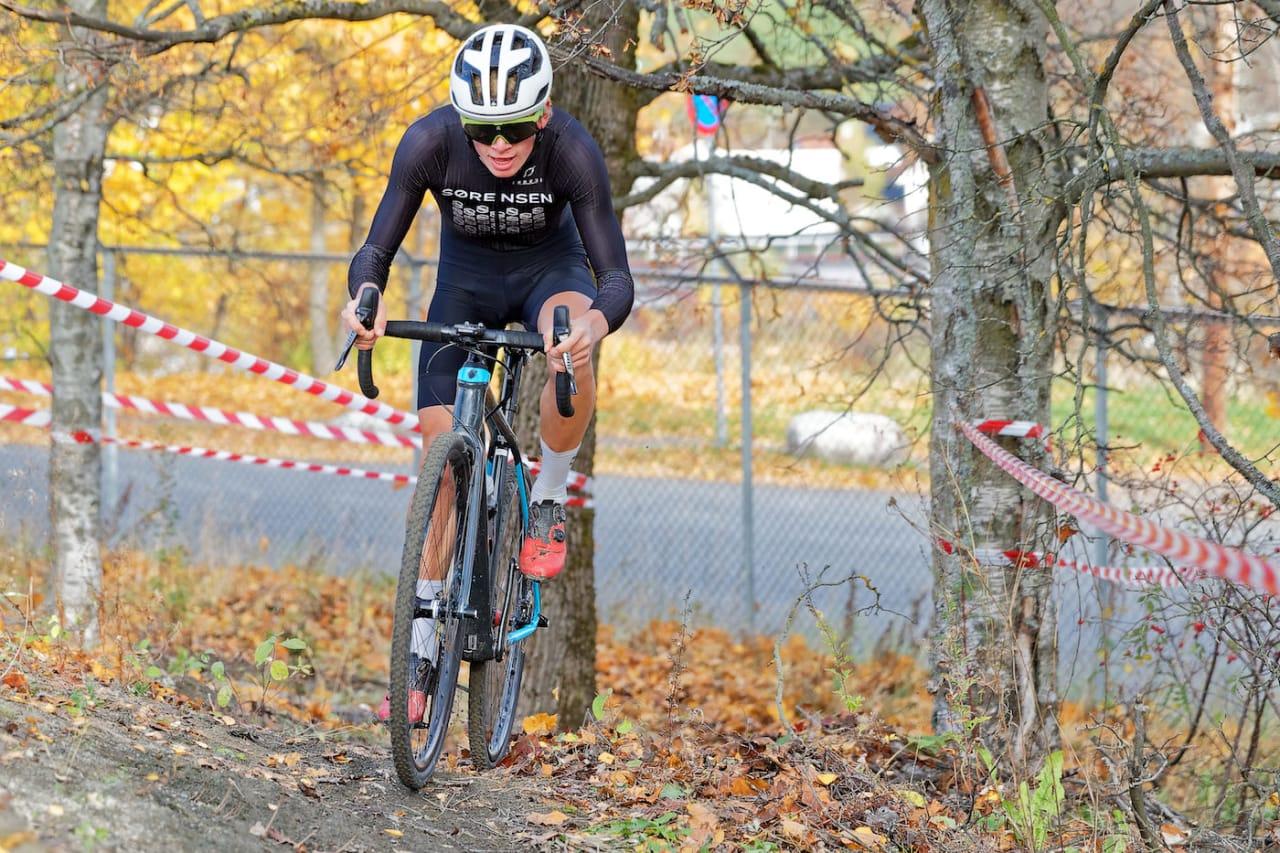 Knut Røhme vant Bjerkekross, men under sekundet skilte dagens tre raskeste. Foto: Ola Morken