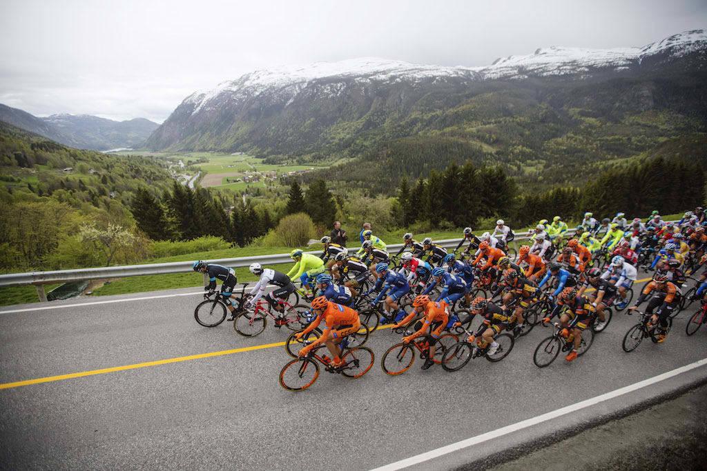 AVLYSES: Tour of Norway avlyses i 2020 på grunn av manglende finansiering. Foto: Kristoffer Øverli Andersen.
