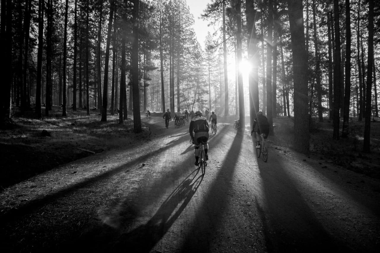INN I DET UKJENTE: Eventyret 2018 er tre dager med sykling på asfalt og grus, og helt ukjente opplevelser. Foto: Henrik Alpers.