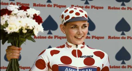 Når Kimberly 'Kim' Karlsen innrømmer doping, blir synden vurdert større enn hun egentlig vil legge seg flat for. Foto: Nils Bremdal-Vinell / Norsk Filmdistribusjon