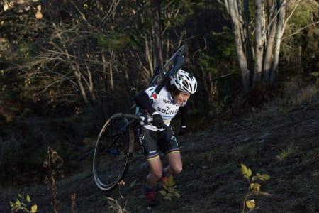 VERDENSMESTER: Gjertrud Bø under Norgescupen i Svelvik sist helg. Foto: Bengt Ove Sannes