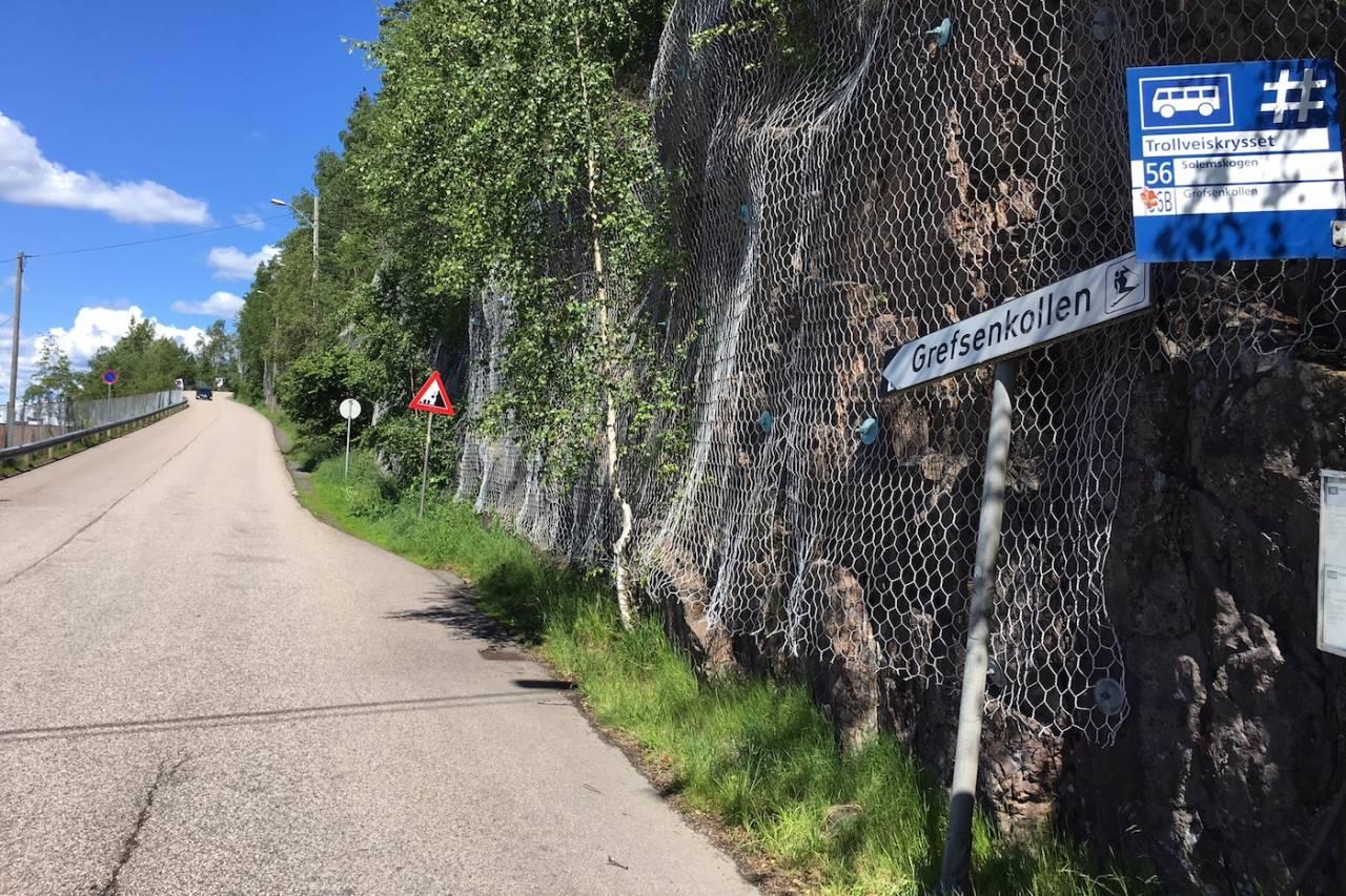 MOUNT EVEREST: Grefsenkollen er stedet der slaget Hope Challenge skal stå, med mål om verdensrekord i everesting. Foto: Stein Magnus Olafsrud