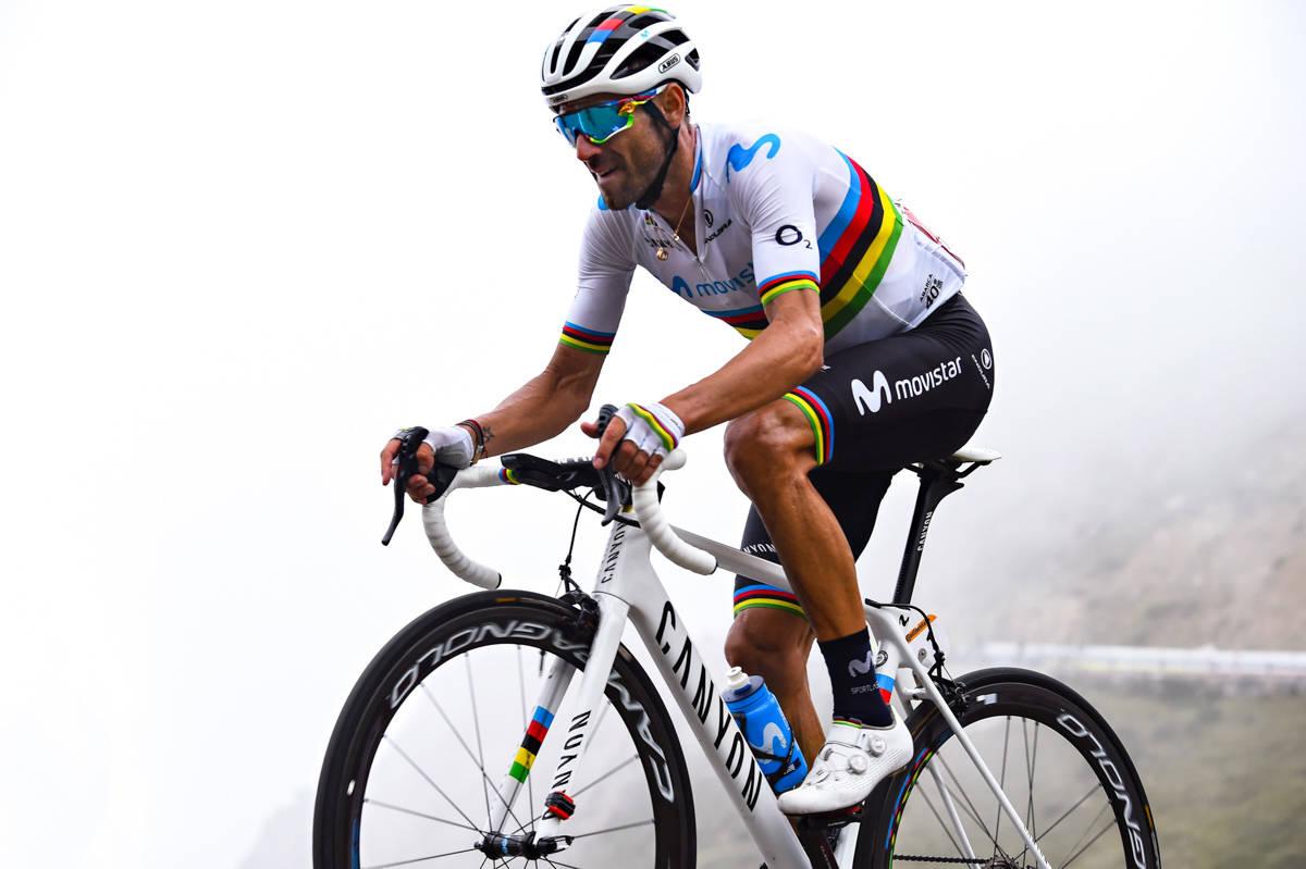 IKKE MER CAMPA: Alejandro Valverde har kjørt sitt siste ritt med Campagnolo-gir. Foto: Cor Vos.