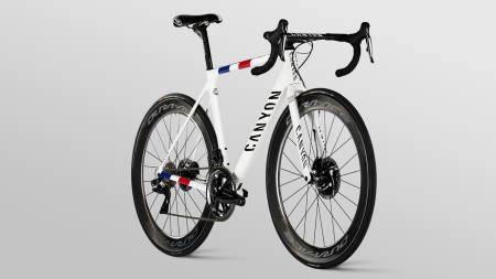 NYTT LAG: Dette er den franske mesterskapssykkelen til Warren Barguil, som han vil bruke for Arkéa-Samsic i 2020.