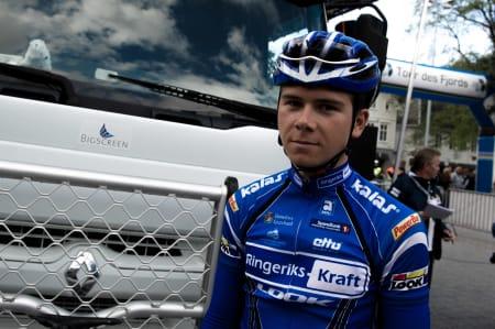 WATTMANN: Håkon Berger har gått ned i vekt og opp i watt, og har det fysiske potensiale for å ta steget ut.