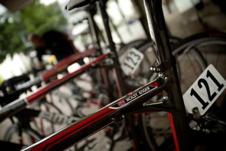 VINNERSYKKEL? Sondre Holst Enger er en ung lovende syklist hos Plussbank BMC. Dette kan være en av de siste rittene hvor han sykler for et norsk lag.