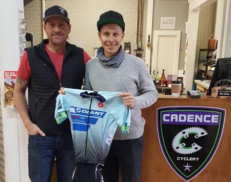 PÅ PLASS I TEXAS: Jonas Orset har i likhet med Mats Zucarello kommet seg til Dallas i Texas. Foto: Cadence Cyclery.