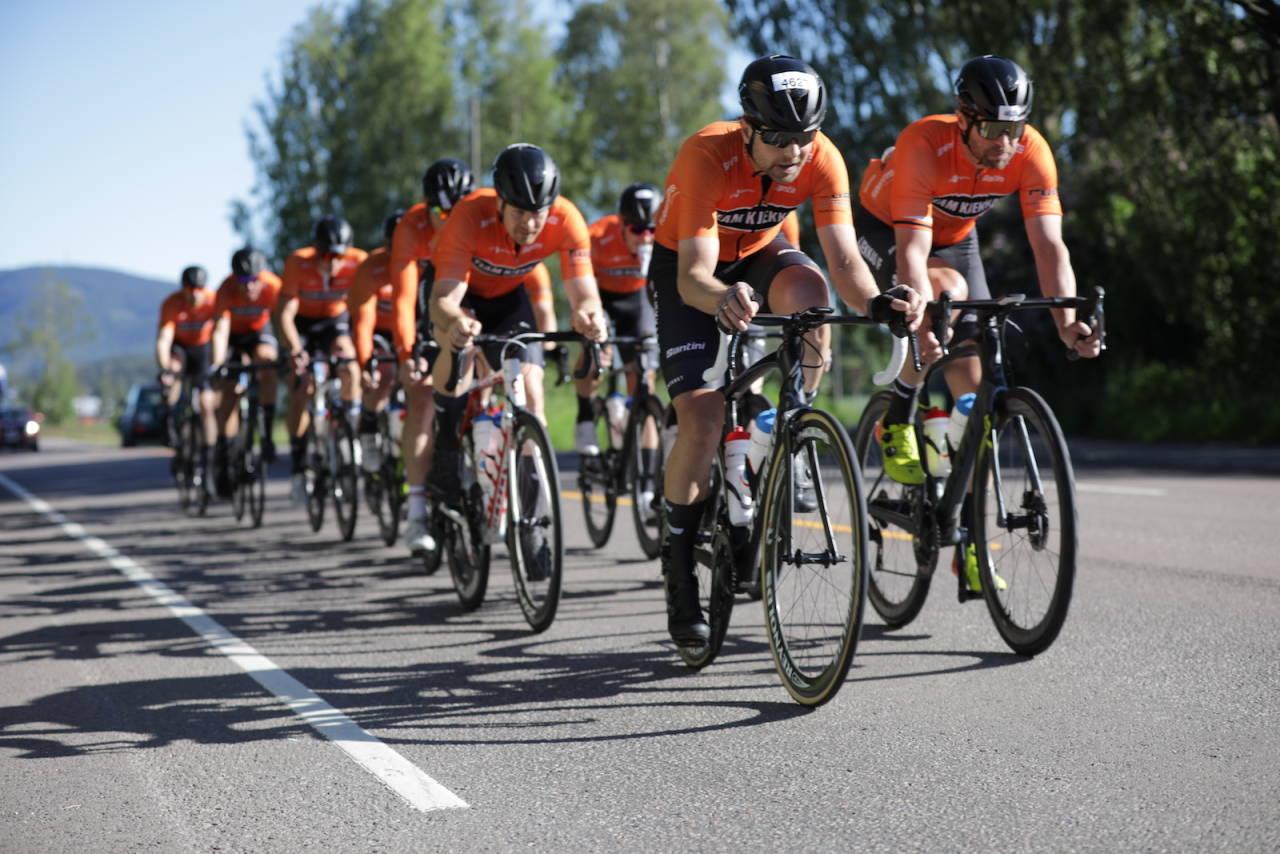 LØYPEREKORD: Kjekkas vant Styrkeprøven Lillehammer-Oslo med knusende margin og satte ny løyperekord. Foto: Bjørn Hytjanstorp