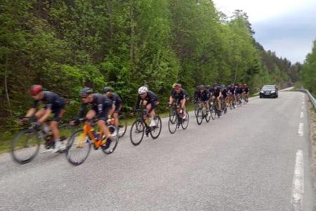 SLURVEFEIL: Detaljer gjorde at Mivai Express Team tapte Colorline Setesdal Tour 2017 med fire sekunder. Det skal ikke skje igjen. Foto: Mivai Express Team