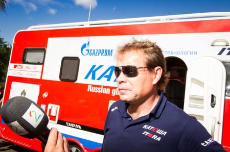 GLAD: Viatcheslav Ekimov sover trolig godt i natt.