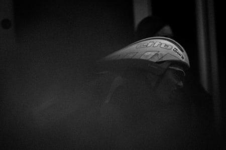 SLITER: Kristoffer Skjerping fra Joker Merida jaget laget sitt, men kom noe etter i mål.