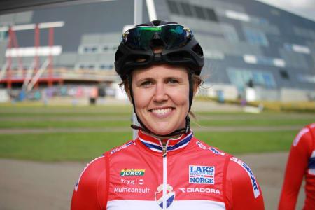VM-KLAR: Tidligere i dag kom beskjeden om at Ingrid Moe skal representere Norge under fellesstarten i Bergen-VM. Foto: Norges Cykleforbund.