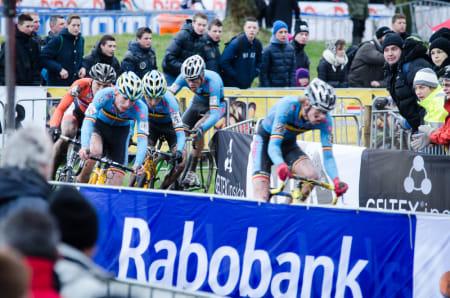 HOMOGENT: Belgierne dominerte juniorklassen, og endte med tre på pallen.