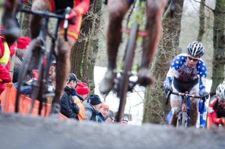US-AND-A: Sykkelkross er stor sport i USA, men når de møter europerne får de stryk.