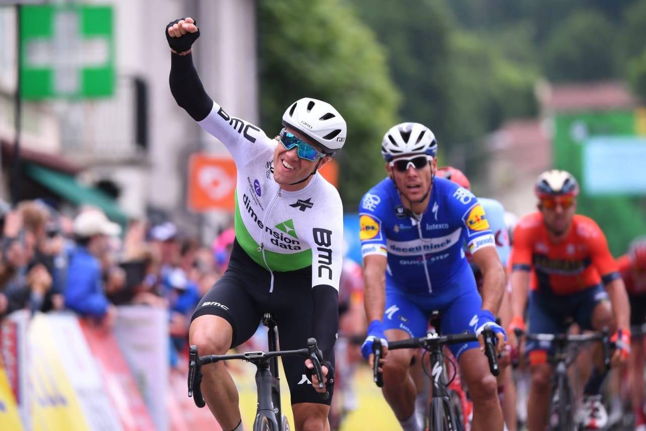 I FORM: Edvald Boasson Hagen viste meget lovende takter da han vant den første etappen i Critérium du Dauphiné. Foto: Cor Vos.