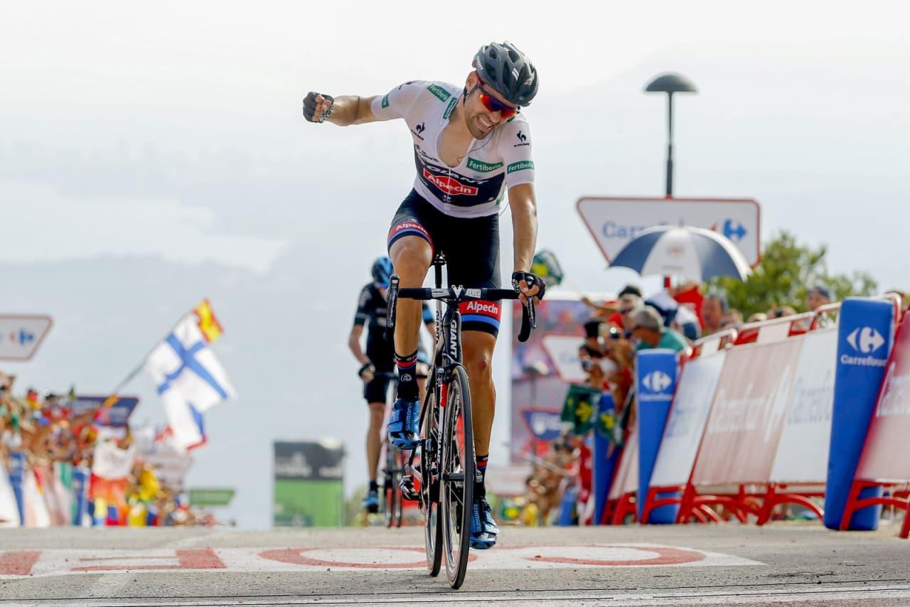 EN NY STJERNE: Tom Dumoulin har imponert stort under årets Vuelta a Espana. Foto: Cor Vos.