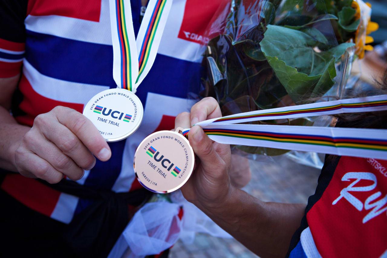 VM-MEDALJER: Norge tok fire medaljer VM-tempoen i Italia torsdag. Foto: Jah Langleite