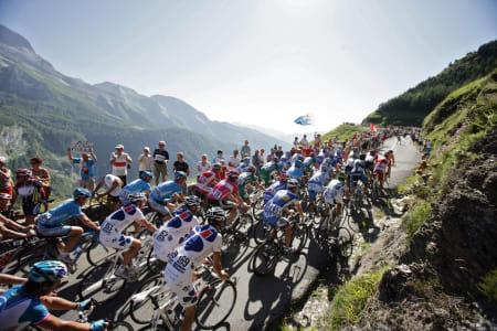 AUBSIQUE: Col d'Aubique er en av de tre legendariske stigningene i Tour de France-historien. Foto: Cor Vos.
