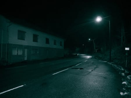 ØDE: Lyngås sliter IKKE med nattebråk 1. juledag.