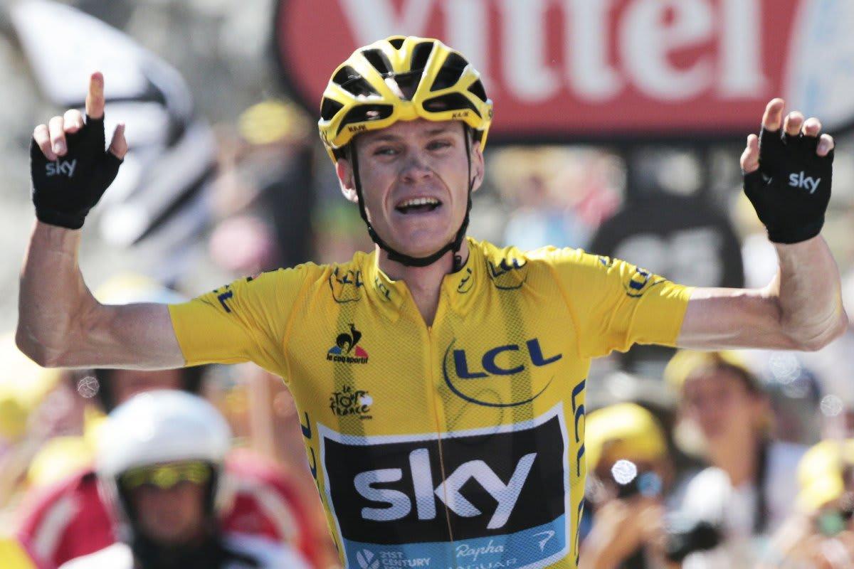 OVERLEGEN: Chris Froome synes å ha avgjort Tour de France allerede. Foto: Cor Vos.