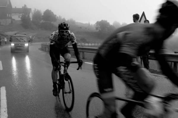 INGEN SOLSKINNSDAG for Vidar Mehl på siste etappe av Rojan Rundfahrt 2016. Foto: Kirsti Ruud