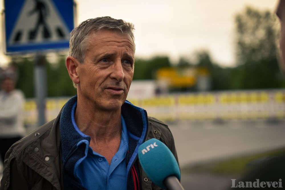 TRENEREN: Fredrik Mohn er igjen Edvalds trener. Det lover godt, for alle som liker Edvald øverst på pallen. Foto: Henrik Alpers.
