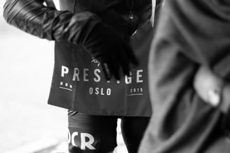 LANGEPOSER: Det unike beviset på at du var med på Rapha Prestige Oslo. Foto: Pål Laukli