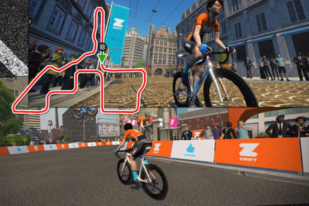 zwift downtown dolphin