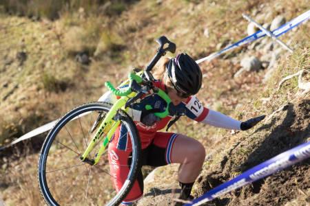 HATTRICK: Elisabeth Sveum vant kross-NM for tredje gang på rad. Foto: Bengt Ove Sannes
