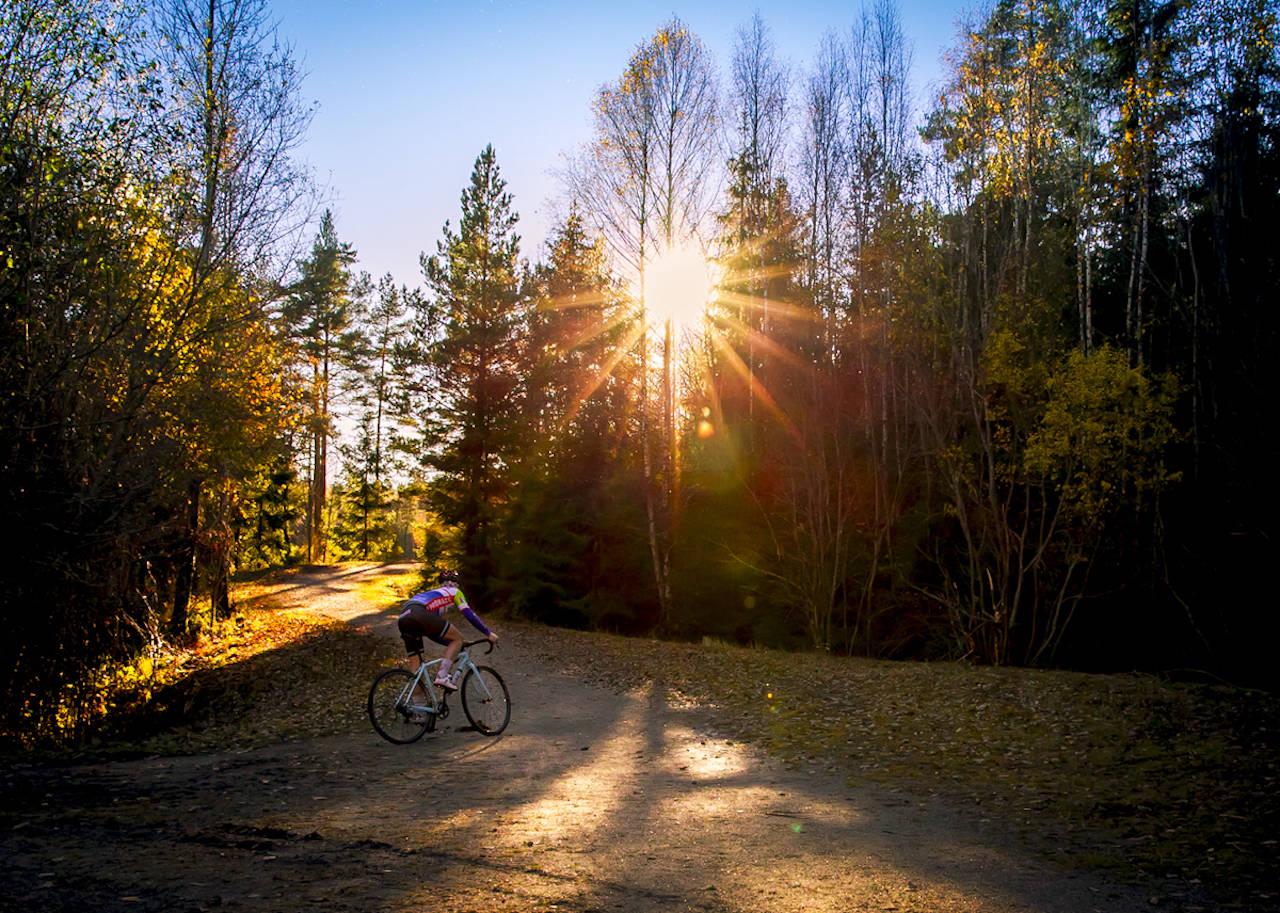 EVENTYR: Selv om sesongstarten blir utsatt er det mye morro som venter sykkelentusiasten. Foto: Kent Erik Harridsleff.