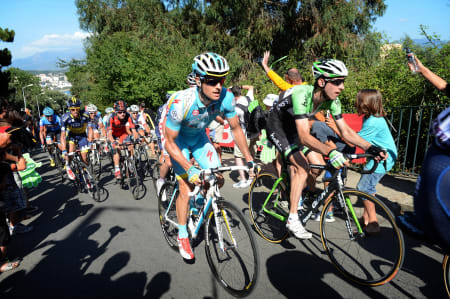 VANT I FJOR: Jakob Fuglsang vant Østerrike rundt i 2012, etter å ha blitt nektet start av laget sitt i Tour de France. Foto: Cor Vos.