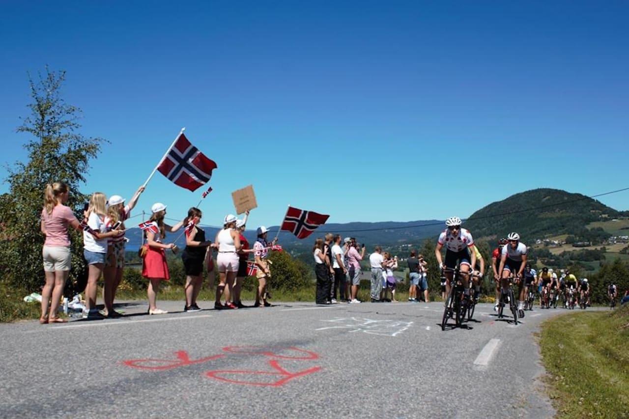 ROJAN RUNDFAHRT: Etapperittet på Hadeland arrangeres kommende helg med første etappe/prolog på torsdag kveld. Foto: Kirsti Ruud