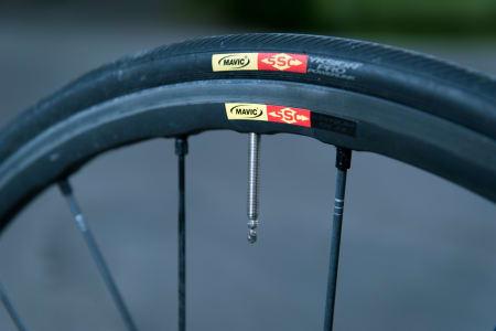 FRANSK: Canyon har valgt franske Mavic som leverandør av dekk og hjul.