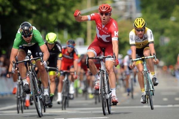 RASK: Det er slik vi vil se Alexander Kristoff i Tour de France. Foto: Cor Vos.