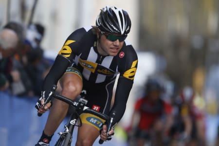 OVERLEGEN: Edvald viste styrke halvannen uke før Touren starter i Utrecht. Foto: Cor Vos