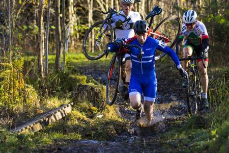 GULL-JAKTEN: Truls Haugseth sikter mot å ta tilbake NM-trøya til helga. Foto: Per-Eivind Syvertsen