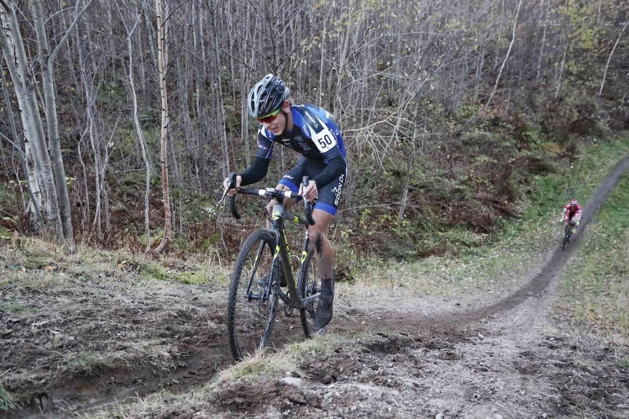 TO FOR TO: Tobias Johannessen vant to av to mulige i kross-Norgescupen denne helga. Foto: Ola Morken