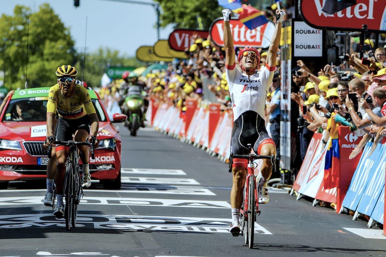 BEST IGJEN: John Degenkolb vant sin første etappe i Tour de France, men sin andre «Paris-Roubaix»-seier. Foto: Cor Vos.