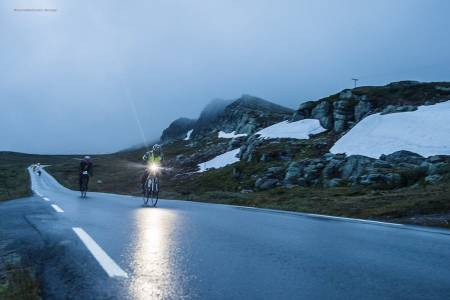 POPULÆRT: Det 430km lange Jotunheimen Rundt ble fulltegnet på rekordtid. Foto: Arrangøren