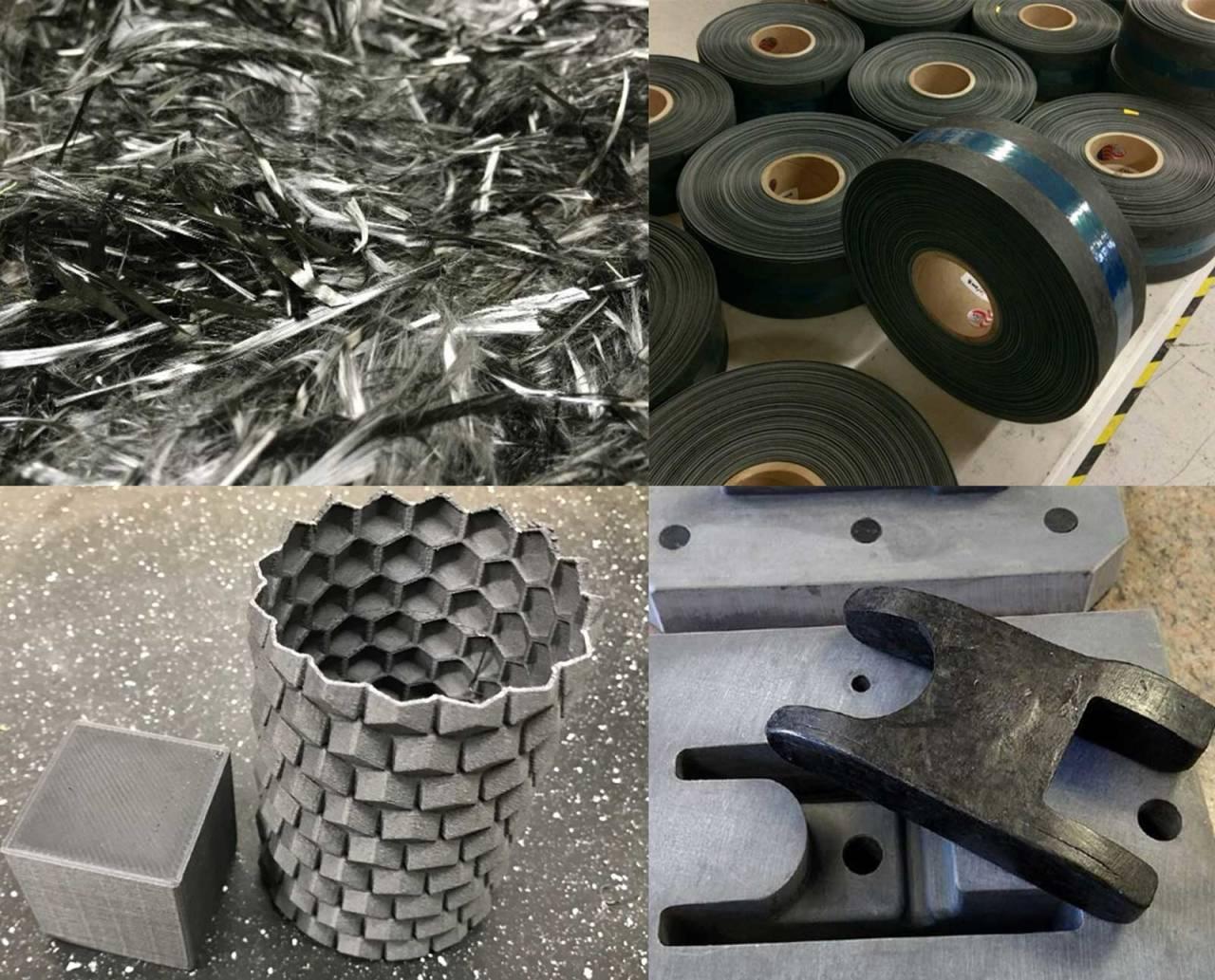 Resirkuleres: Karbon kan resirkuleres, men teknologien er kostbar og begrenset i omfang. Foto: Carbon Composites inc.