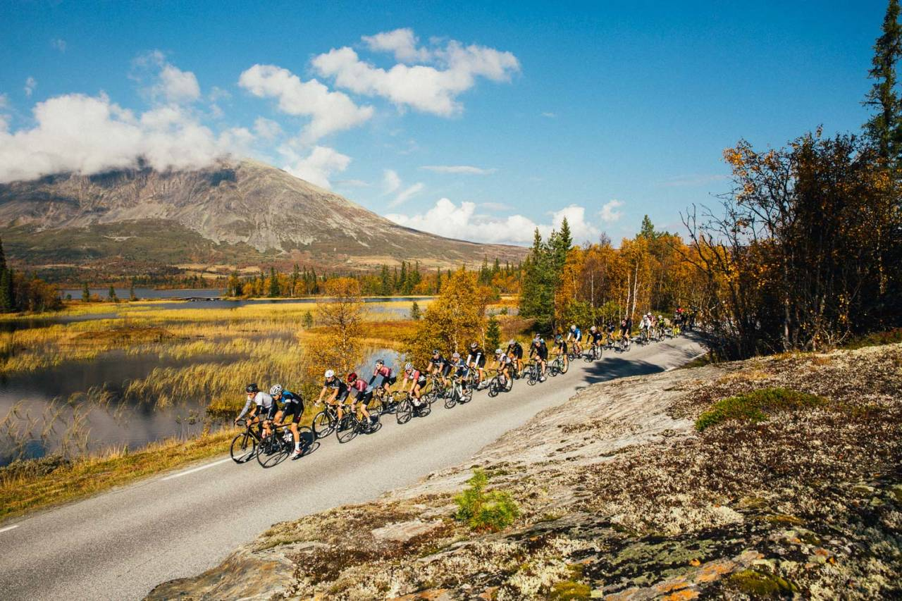 BLI MED! Samling 2016 samlet over 70 syklister til store opplevelser i Valdres. Bli med i 2017! Foto: Magnus Roaldset Furset.